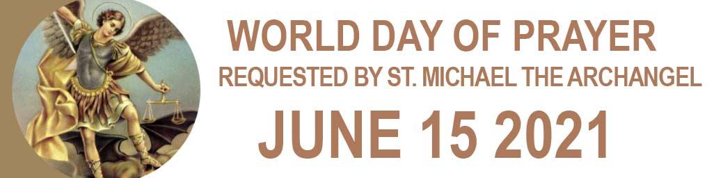 World Day of Prayer June 15 2021