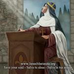 Las oraciones de 12 años de Santa Brígida