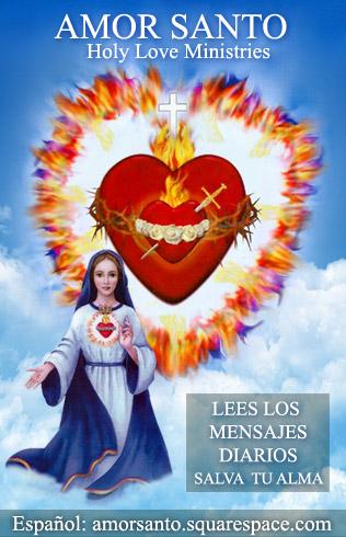 Mensajes diarios del Amor Santo (Holy Love)