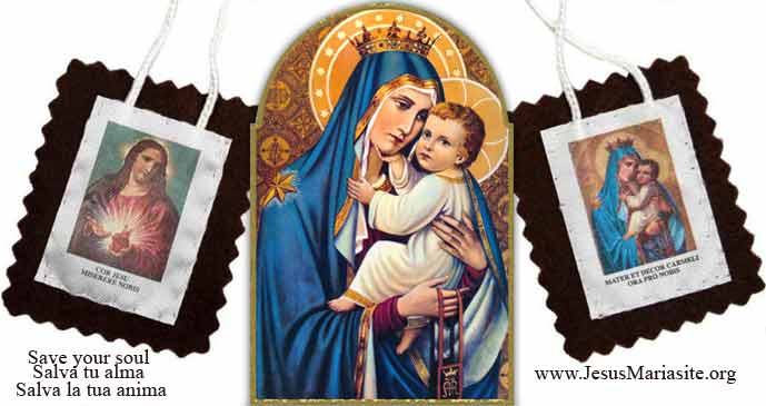 Escapular de la Santísima Virgen María del Monte Carmelo