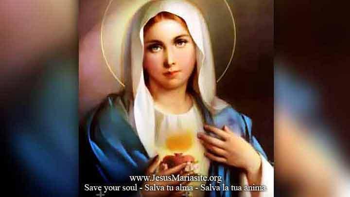 I primi 5 sabati del mese al Cuore Immacolato di Maria