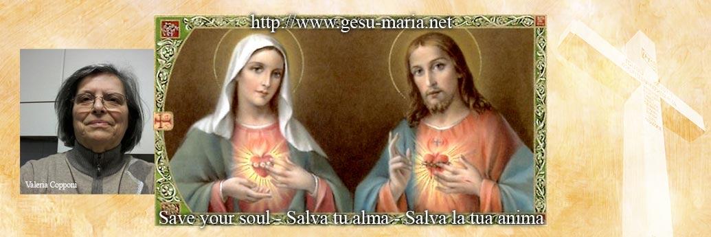 Valeria Copponi: Messaggi di Gesu e Maria