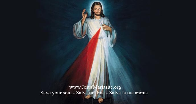 Gesù della Divina Misericordia