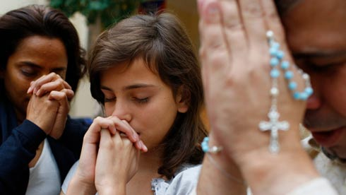 Famiglia in preghiera