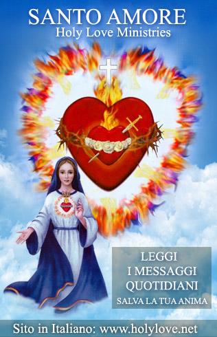 Leggi i Messaggi quotidiani del Santo Amore