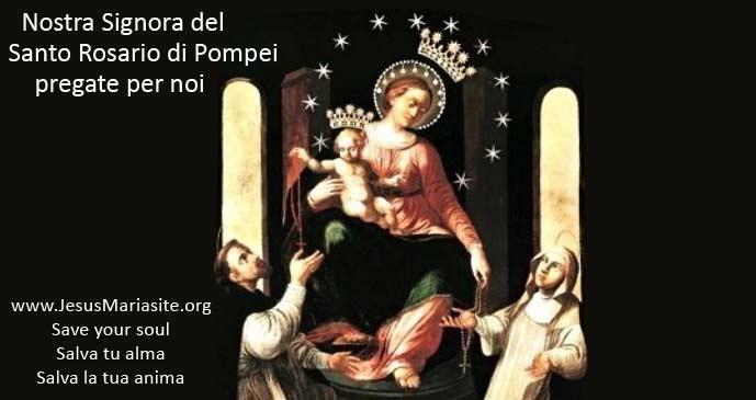 Madonna di Pompei - Novena del Rosario di 54 giorni