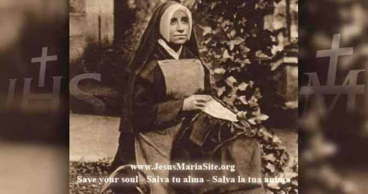 Sister Josefa Menendez
