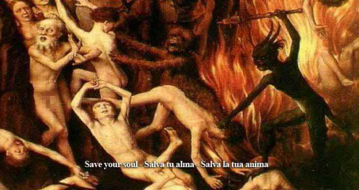 Tormented Souls In Hell