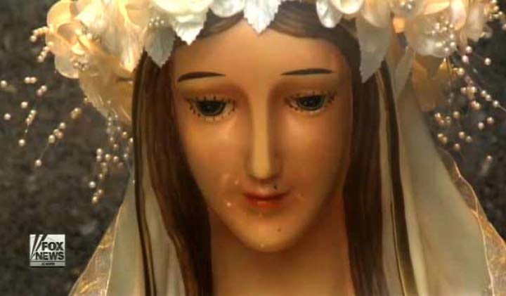 Weeping Virgin Mary Statue (Windsor, Canada)