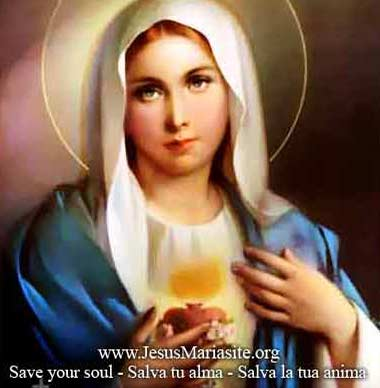 Act of Consecration to the Immaculate Heart of Mary
