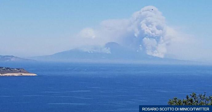 Volcano Vesuvio