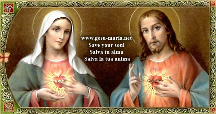 Jesus and Maria