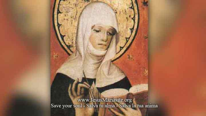 The 15 Prayers of St. Bridget of Sweden