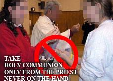Avoid Sacrileges attending Mass